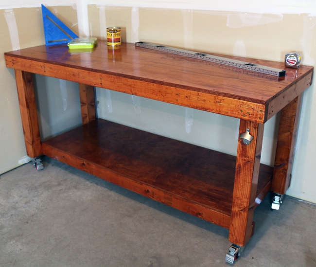 10 Simple DIY Workbench Plans You Can Start Building Today 1