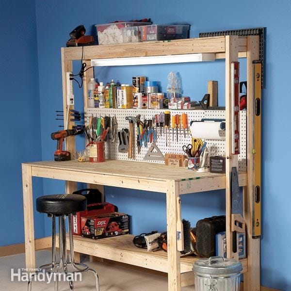 10 Simple DIY Workbench Plans You Can Start Building Today 2