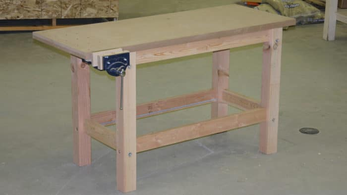 10 Simple And Free Diy Workbench Plans For Woodworking
