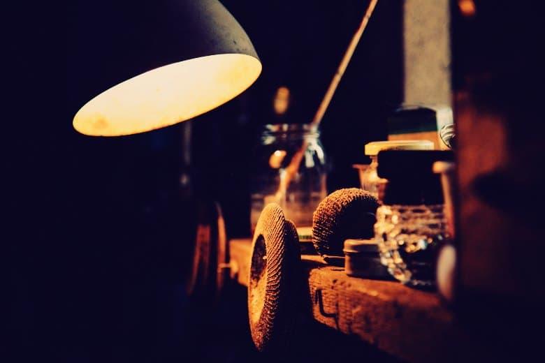 Woodworking shop lighting