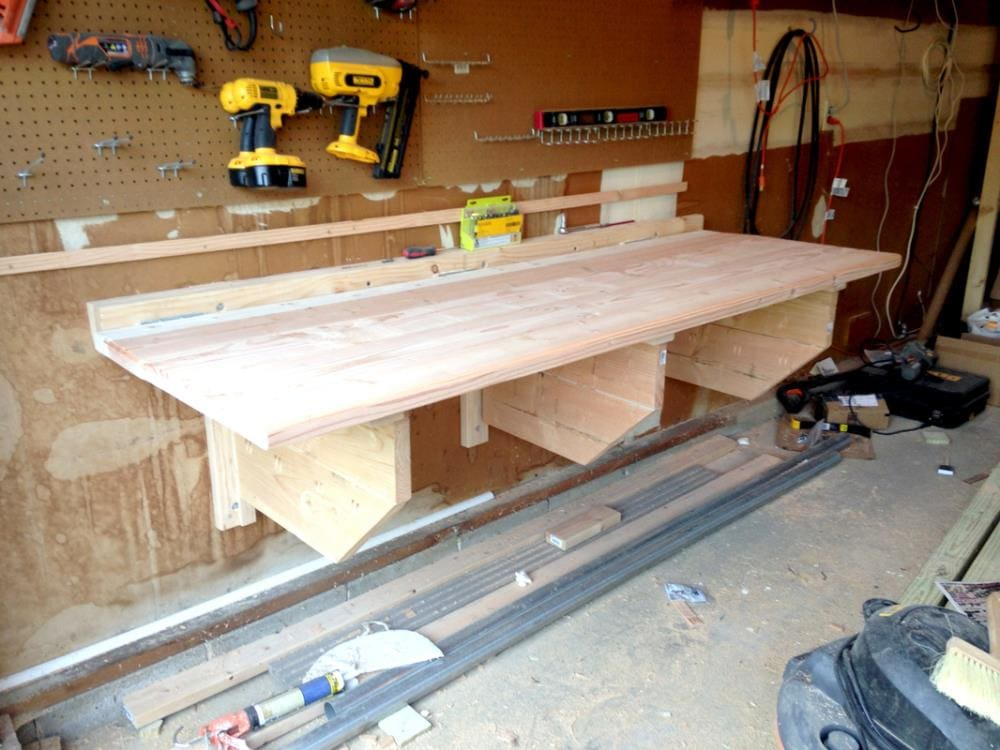Folding Workbench from Just Measuring Up