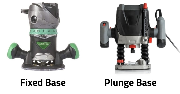 Fixed base vs plunge base routers