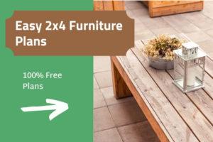 Free 2x4 furniture plans