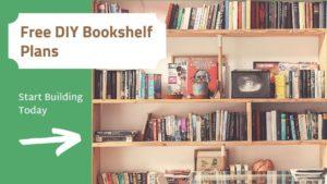 Free DIY Bookshelf Plans