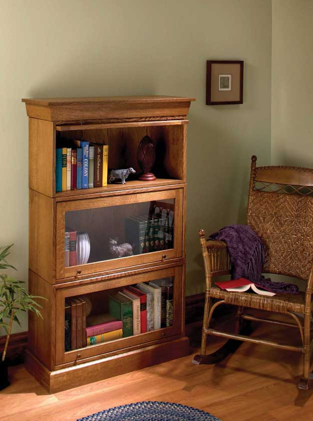 Popular Woodworking Barrister Bookcase