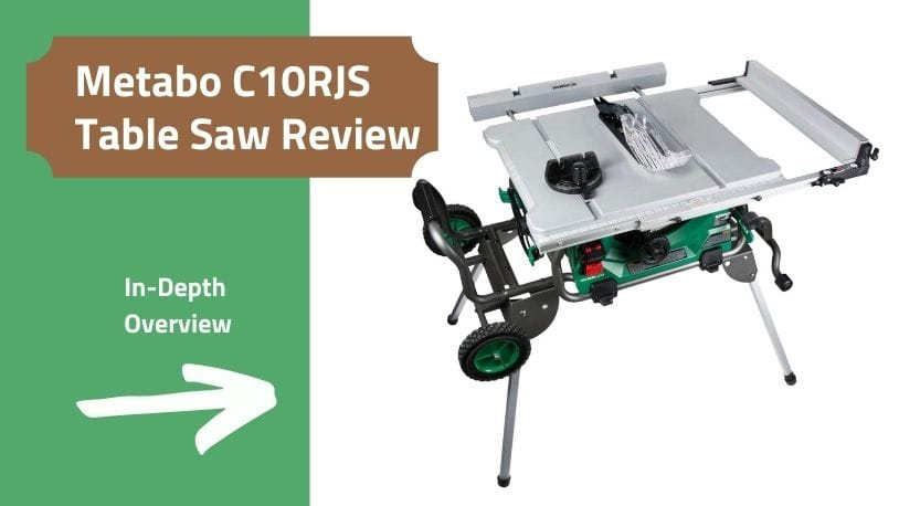 Metabo HPT C10RJS Table Saw Review